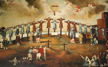 Άνθρωποι που μαρτύρησαν στον σταυρό