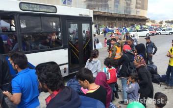 Τουλάχιστον 365 οι πρόσφυγες που έφυγαν από Πειραιά για Σκαραμαγκά