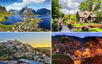 Δέκα μικρά χωριά απαράμιλλης ομορφιάς σε όλο τον κόσμο