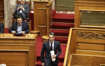 Τσίπρας: Μνημείο κινδυνολογίας η ομιλία Μητσοτάκη στη Βουλή