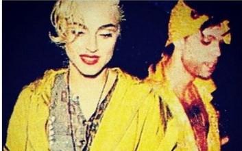 Η Μαντόνα αποχαιρετά τον Prince