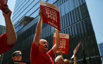 Απεργία ξεκινούν 40.000 εργαζόμενοι της εταιρίας Verizon