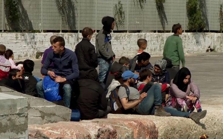 Νέες συμπλοκές προσφύγων στη Χίο