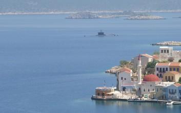 Υποβρύχια του Πολεμικού Ναυτικού στο Καστελόριζο