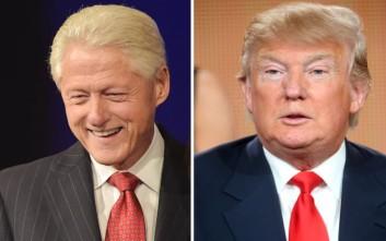 Ο Ντόναλντ Τραμπ σκέφτεται να ζητήσει συμβουλές από τον Μπιλ Κλίντον