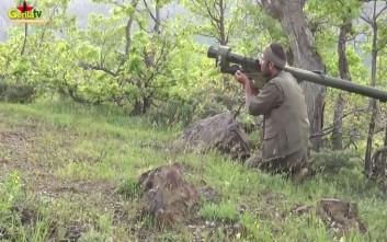 Οι Κούρδοι ισχυρίζονται πως έπληξαν στρατιωτικούς στόχους εντός τούρκικου εδάφους