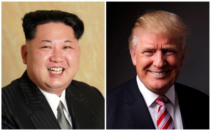 Κιμ Γιονγκ Ουν και Ντόναλντ Τραμπ… 2 σε 1