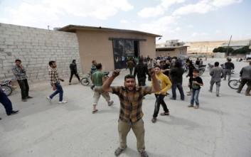 Βομβιστής ανατινάχτηκε σε εστιατόριο της Συρίας