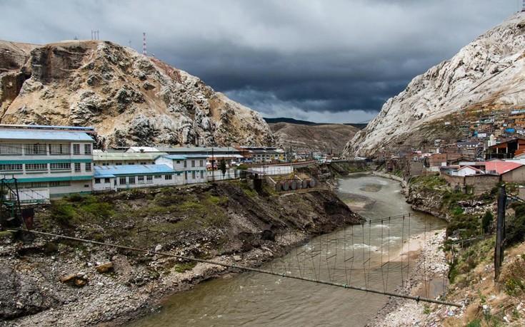Η πόλη Oroya στον ποταμό Mantaro  (Credit: age fotostock/Alamy Stock Photo)