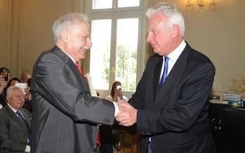 Τιμητική διάκριση του Hellenic American University και του Προέδρου του