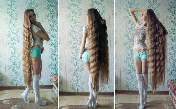 Μία σύγχρονη Ραπουνζέλ στη Ρωσία