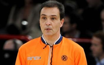 Έλληνας διαιτητής στο Final Four της Ευρωλίγκας
