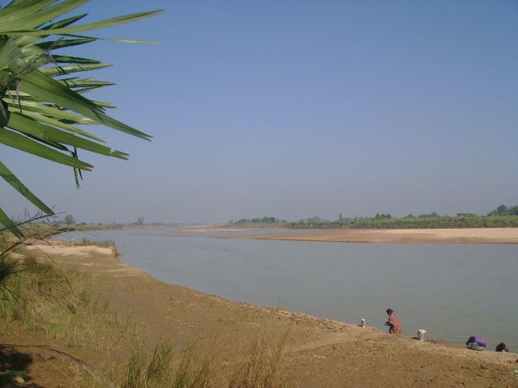 Ο ποταμός Ajay στην Ινδία