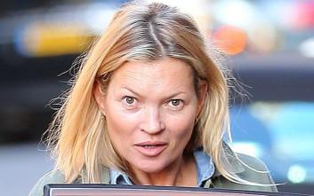 Δείτε την Kate Moss χωρίς μακιγιάζ
