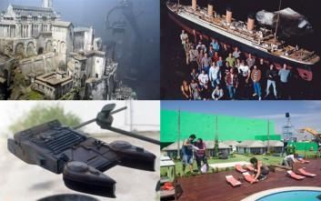 Διάσημες ταινίες με απίστευτα εφέ από… μινιατούρες
