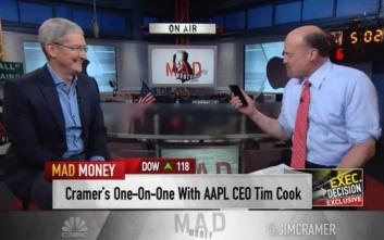 Tim Cook: Μεγάλες καινοτομίες έρχονται από την Apple