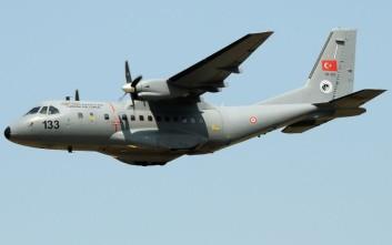 Τουρκικό αεροσκάφος συλλογής πληροφοριών «σάρωσε» το Αιγαίο