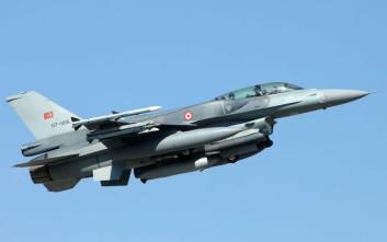 Τουρκικό F-16 πέταξε πάνω από το Κουνελονήσι