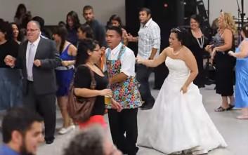 Γαμήλιος χορός διαφορετικός από τους συνηθισμένους
