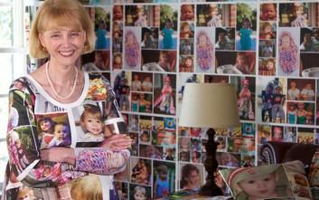 Η γιαγιά που ξοδεύει χιλιάδες λίρες για να «ντύσει» το σπίτι με τα εγγόνια της