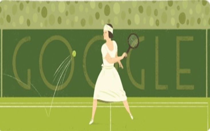 Η Google τιμά την πρώτη σούπερ σταρ του τένις