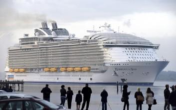 Για το πρώτο του ταξίδι προετοιμάζεται το μεγαλύτερο κρουαζιερόπλοιο στον κόσμο