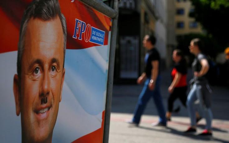 Διατηρεί το προβάδισμα του ο υποψήφιος της ακροδεξιάς στην Αυστρία