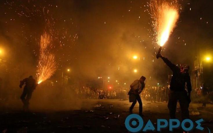 Εντυπωσιακός και φέτος ο σαϊτοπόλεμος στην Καλαμάτα