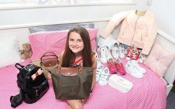 Η 11χρονη με χόμπι και δώρα αξίας 1300 ευρώ το μήνα