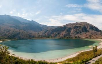 Η Λίμνη Κουρνά των θρύλων