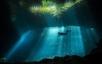Εντυπωσιακές εικόνες από το χώρο ταφής των Μάγια σε καταβόθρα της μεξικανικής ζούγκλας