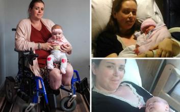 Πήγε στο νοσοκομείο να γεννήσει το 8ο παιδί της και έφυγε χωρίς πόδια