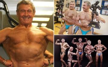 Ο 73χρονος bodybuilder που δεν τον σταματά ούτε ο κίνδυνος του θανάτου