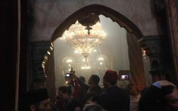 Άρχισαν οι εργασίες στον Πανάγιο Τάφο στην Ιερουσαλήμ