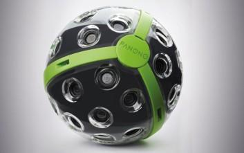 Η μπάλα που την πετάς στον αέρα... και βγάζει φωτογραφίες
