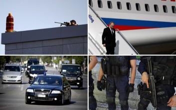 Καρέ-καρέ η επίσκεψη Πούτιν στην Αθήνα