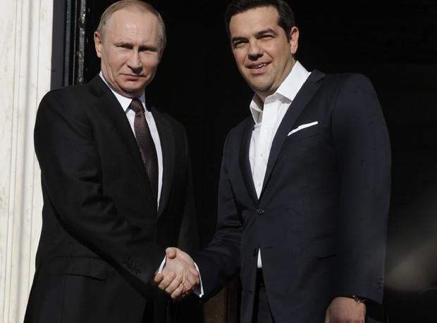 Ολοκληρώθηκε η συνάντηση Τσίπρα – Πούτιν