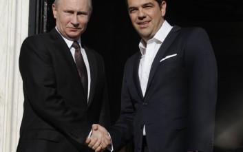 Επικοινωνία Τσίπρα – Πούτιν