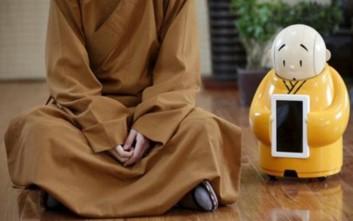 Ρομπότ... μοναχός σε βουδιστικό μοναστήρι