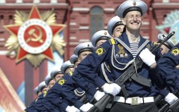 Η Ρωσία γιορτάζει την Ημέρα της Νίκης επί της ναζιστικής Γερμανίας