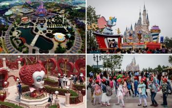 Μια πρώτη ματιά στη Disneyland της Σαγκάης