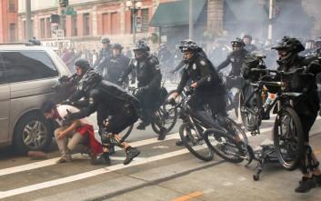 Τραυματισμοί και συλλήψεις σε εκδηλώσεις για την Πρωτομαγιά στο Σιάτλ