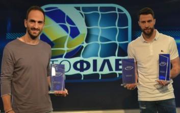 Απονεμήθηκαν τα πρώτα βραβεία του Επάθλου Novasports Volleyball 2015-2016