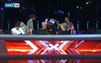 Στα όρια της λιποθυμίας η Τάμτα στο X Factor - Chair Challenge