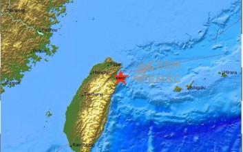 Σεισμός 5,6 Ρίχτερ στην Ταϊβάν
