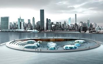Το φουτουριστικό υποβρύχιο ενυδρείο-νησί σε ποταμό της Νέας Υόρκης