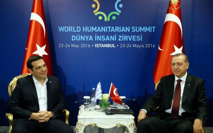 Συνάντηση με τον Ερντογάν ζήτησε ο Τσίπρας για το Κυπριακό