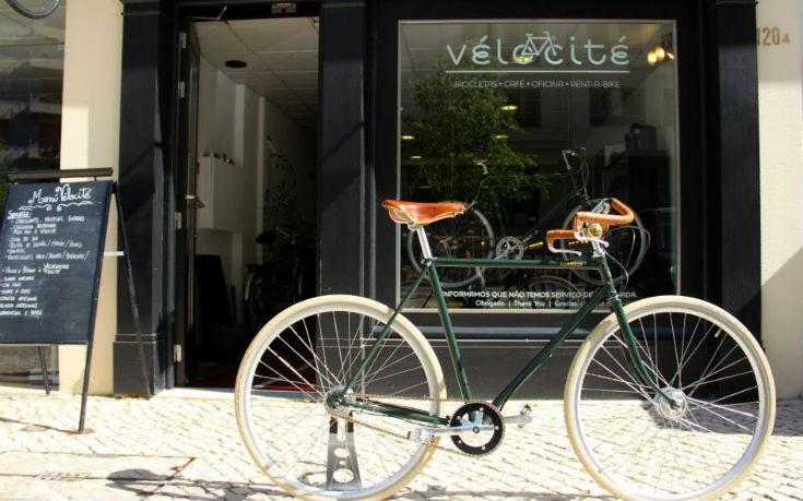 Εξωτερική άποψη του La Velocite στη Λισαβόνα
