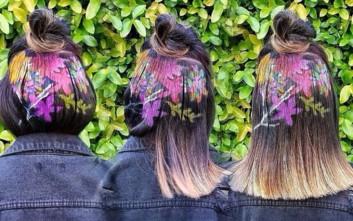 Όταν τα μαλλιά γίνονται καμβάς