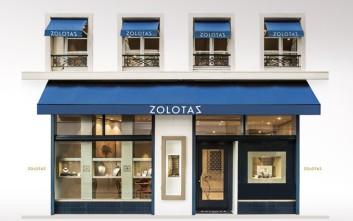 Ο διάσημος ελληνικός οίκος χρυσοχοΐας ZOLOTAS ανοίγει νέο κατάστημα στο Παρίσι